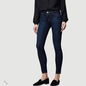 New $198 Goop x Frame Skinny Pull up Jeans Sz S